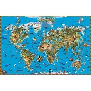 Карта. Мир в руках ребенка. Обитатели Земли. ISBN 978-593684-088-3.