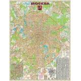 Карта. Москва. Административная.
