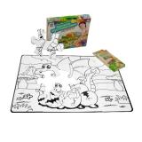 Игра головоломка раскраска с карандашами 12 элементов